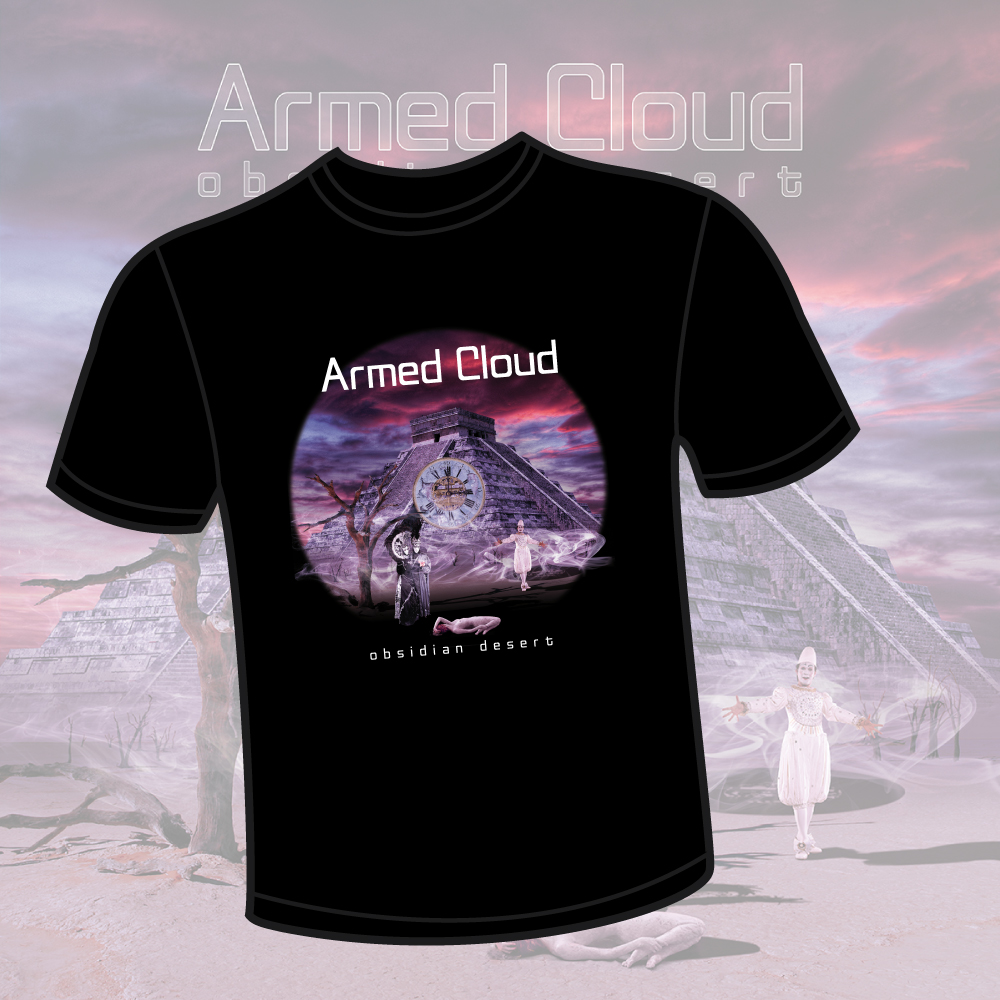 Obsidian Desert T-Shirt Armed Cloud